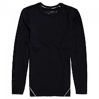 [해외]슈퍼드라이 Performance Flock Compression Black