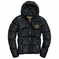 [해외]슈퍼드라이 Gym Tech Gold Puffa Black