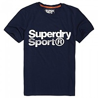 [해외]슈퍼드라이 Core Sport Graphic Tee Dark Navy