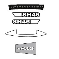 [해외]샤드 SH46 Shad Stickers