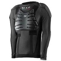 [해외]SIXS L/S Kid Predisposto Back Shoulders Elbow Chest Black Carbon
