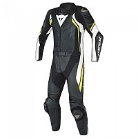 [해외]다이네즈 Avro D2 2pc Suit Black / White / Yellow Fluo