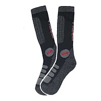 [해외]HELD Biker Socks Black / Grey