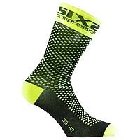[해외]SIXS Compression Ankle Socks Yellow Fluo