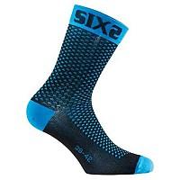 [해외]SIXS Compression Ankle Socks Light Blue
