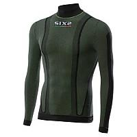 [해외]SIXS L/S Shirt High Neck Dark Green Dark Green