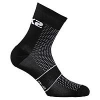 [해외]SIXS Running Socks Black Carbon
