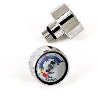 [해외]BEST DIVERS Mini Pressure Gauge 350 Bar