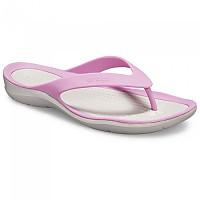 [해외]크록스 Swiftwater Flip Violet / Pearl White