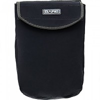[해외]BARE Expandable Neoprene Pocket With Flap Black