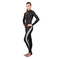 [해외]LAVACORE Full Suit Back Zip Black