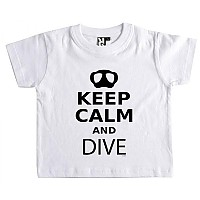 [해외]KRUSKIS Keep Calm and Dive White