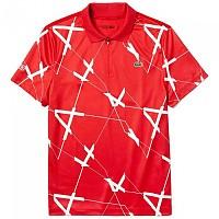 [해외]라코스테 Sport Graphic Printed Brathable Red / White
