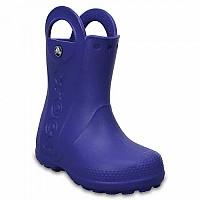 [해외]크록스 Handle It Rain Boot Kids Cerulean Blue