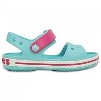 [해외]크록스 Crocband Sandal Pool / Candy Pink