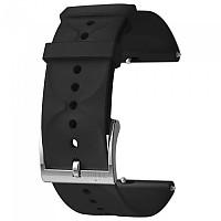[해외]순토 Urban 1 Silicone 20mm S Strap Black / Steel