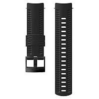 [해외]순토 Athletic 1 Silicone Strap Black / Steel