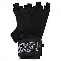[해외]KRF Senior Gloves With Wristband Black