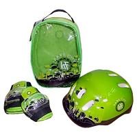 [해외]PARK CITY Backpack+Protections+Helmet Green