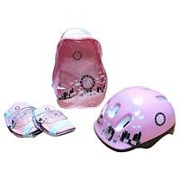 [해외]PARK CITY Backpack+Protections+Helmet Pink