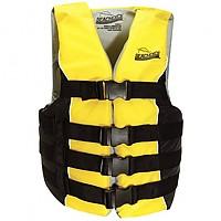 [해외]SEACHOICE Deluxe 4 Belt Ski Vest Black / Yellow