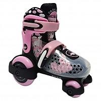 [해외]PARK CITY Baby Quad Skate Pink