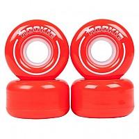 [해외]ROOKIE Quad Wheels All Star 4 Pack Red