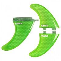 [해외]JOBE Honeycomb Fin Set 3 Units Green