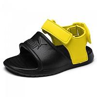 [해외]푸마 Divecat v2 Injex Infant Puma Black / Blazing Yellow