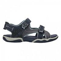 [해외]팀버랜드 Park Hopper Leather And Fabric 2 Strap Stretch Junior Black Iris