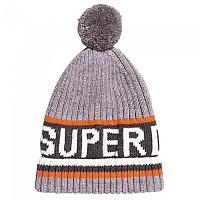 [해외]슈퍼드라이 Super Logo Grey Ice Marl / Fluor Coral