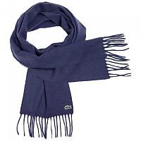 [해외]라코스테 Fringed Wool And Cashmere Navy Blue