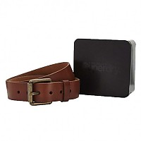 [해외]슈퍼드라이 Western Classic Belt In A Tin Juicy Tan