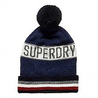 [해외]슈퍼드라이 Super Stripe Logo Navy Marl
