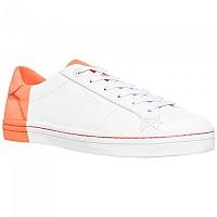 [해외]슈퍼드라이 Tropics Sleek Lo White / Fluro Coral
