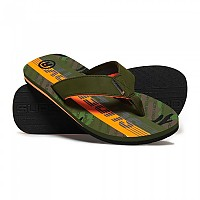 [해외]슈퍼드라이 Trophy 2.0 Flip Flop Khaki / Classic Camo / Hazard Orange