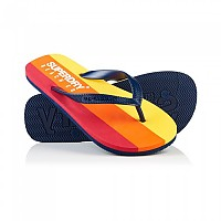 [해외]슈퍼드라이 Sleek Flip Flop Richest Navy / Red Cali Stripe