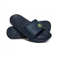 [해외]슈퍼드라이 Lineman Pool Slide Dark Navy / Dark Navy
