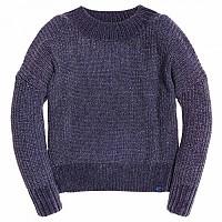 [해외]슈퍼드라이 Suzi Supersoft Slouchy Knit Vintage Denim