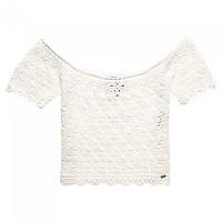 [해외]슈퍼드라이 Prarie Daze Crochet Off White