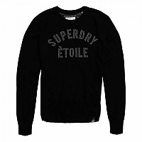 [해외]슈퍼드라이 Gemstone Knit Black