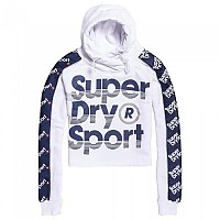 [해외]슈퍼드라이 Sports 021 Crop Hoody White