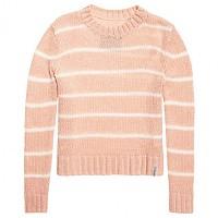 [해외]슈퍼드라이 Nordic Stripe Mohair Jumper Shell Pink / Cream