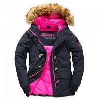 [해외]슈퍼드라이 Everest Dufle Navy / Pop Pink