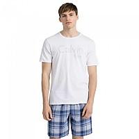 [해외]캘빈클라인 언더웨어 Id S/S Crew T Shirt White W / Tonal Logo