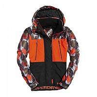 [해외]슈퍼드라이 Hooded Polar Printed Attacker Orange