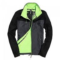 [해외]슈퍼드라이 Track Windtrekker Black / Nimbus Grey / Sport Lime