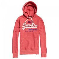 [해외]슈퍼드라이 Vintage Logo Duo Hood Sunbleached Red Snowy