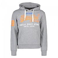 [해외]슈퍼드라이 Sweat Shirt Store Tri Hood Montana Grey