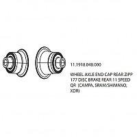 [해외]ZIPP Rear Caps 177 Disc QR